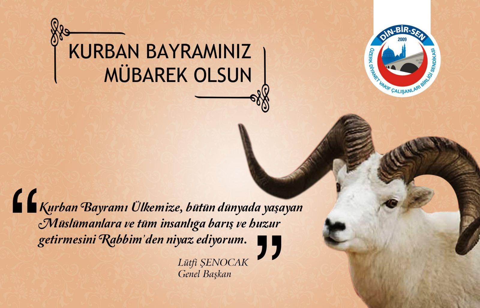Картинки детские, открытка курбан-байрам на турецком языке